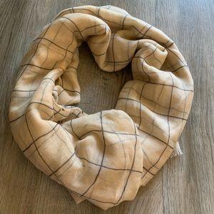 Rachel Pally plaid scarf